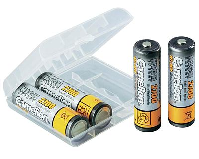 Rechargeable batteries aa 2700 mah nimh Camelion